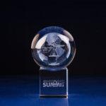 Crystal Sphere Stand - 10sbg