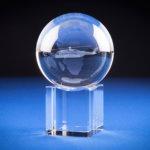 Crystal Sphere Stand - 15sbg