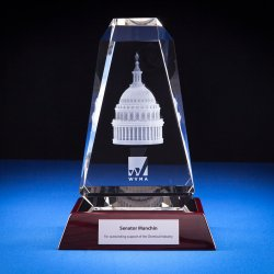 Cathedral Crystal Trophy