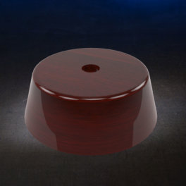 Rosewood Circle LED Base