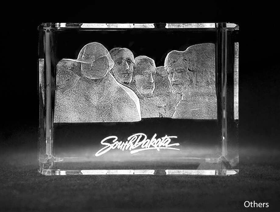 Crystal Sensations' Mount Rushmore