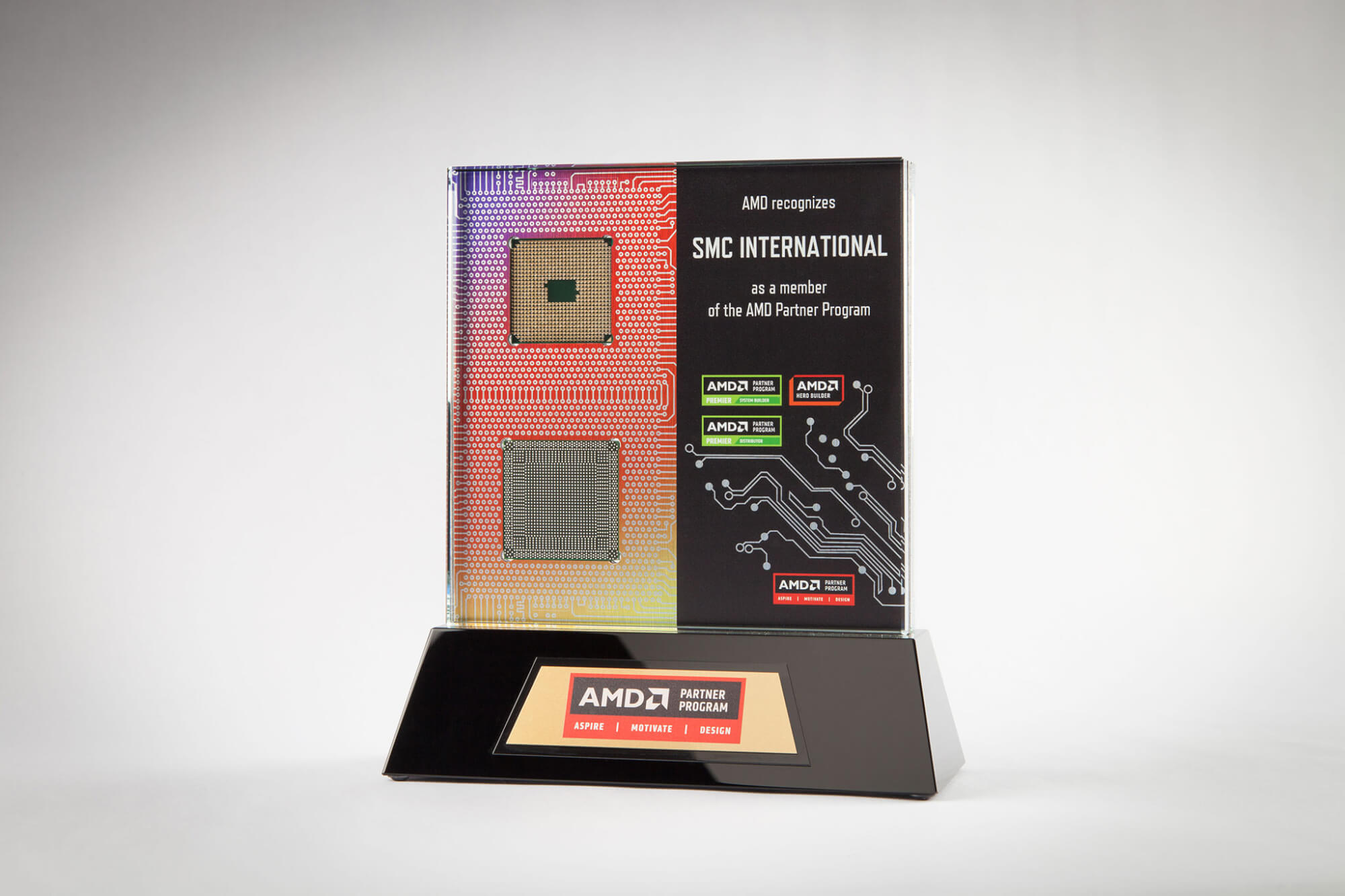 Custom AMD Award