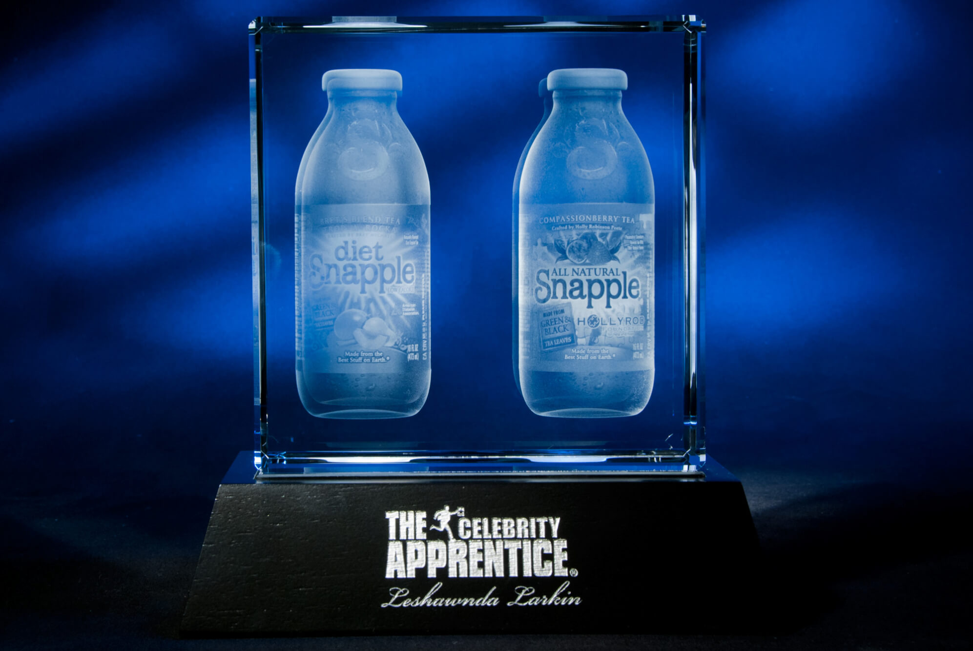 Celebrity Apprentice Snapple Award