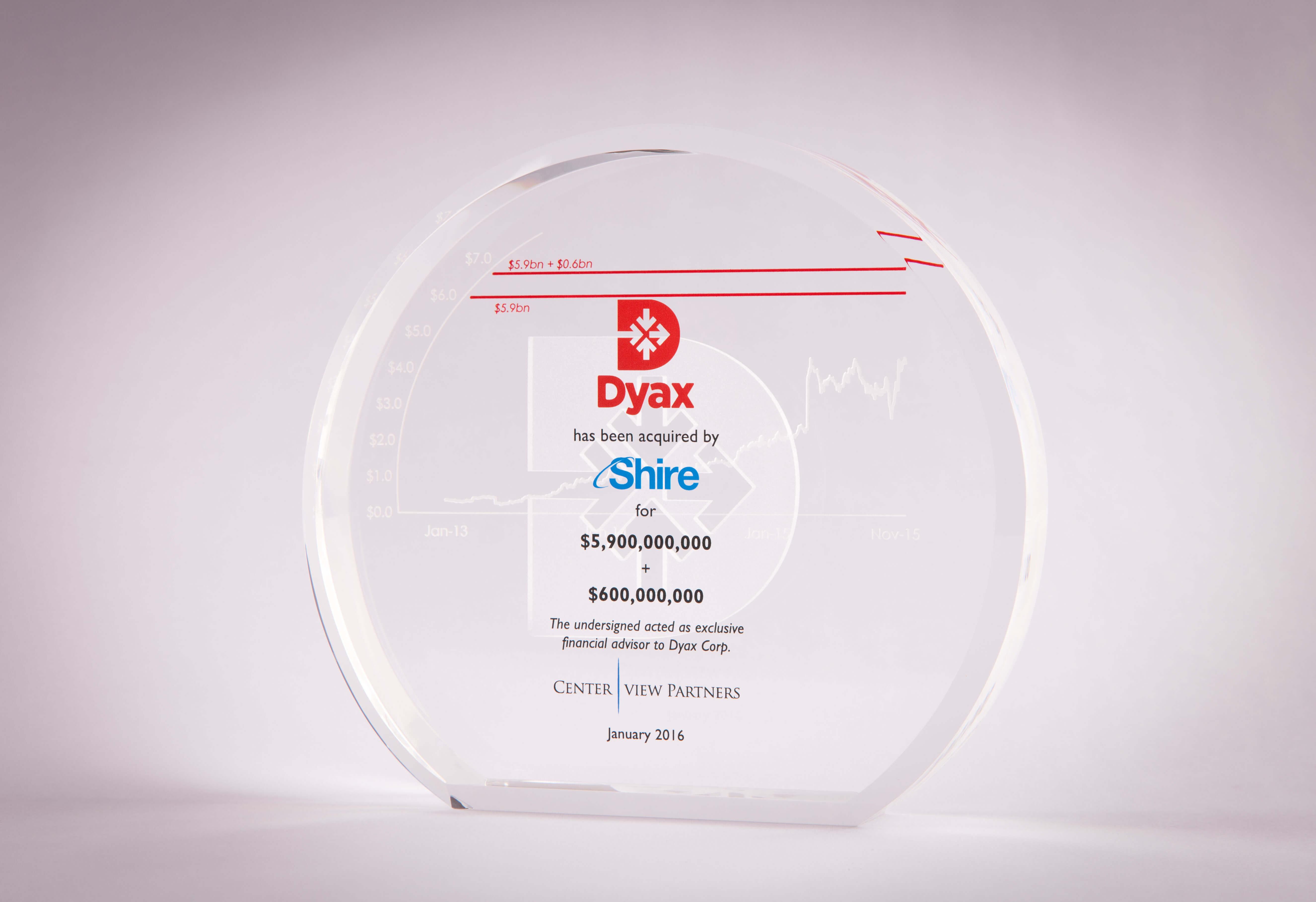 Dyax Award