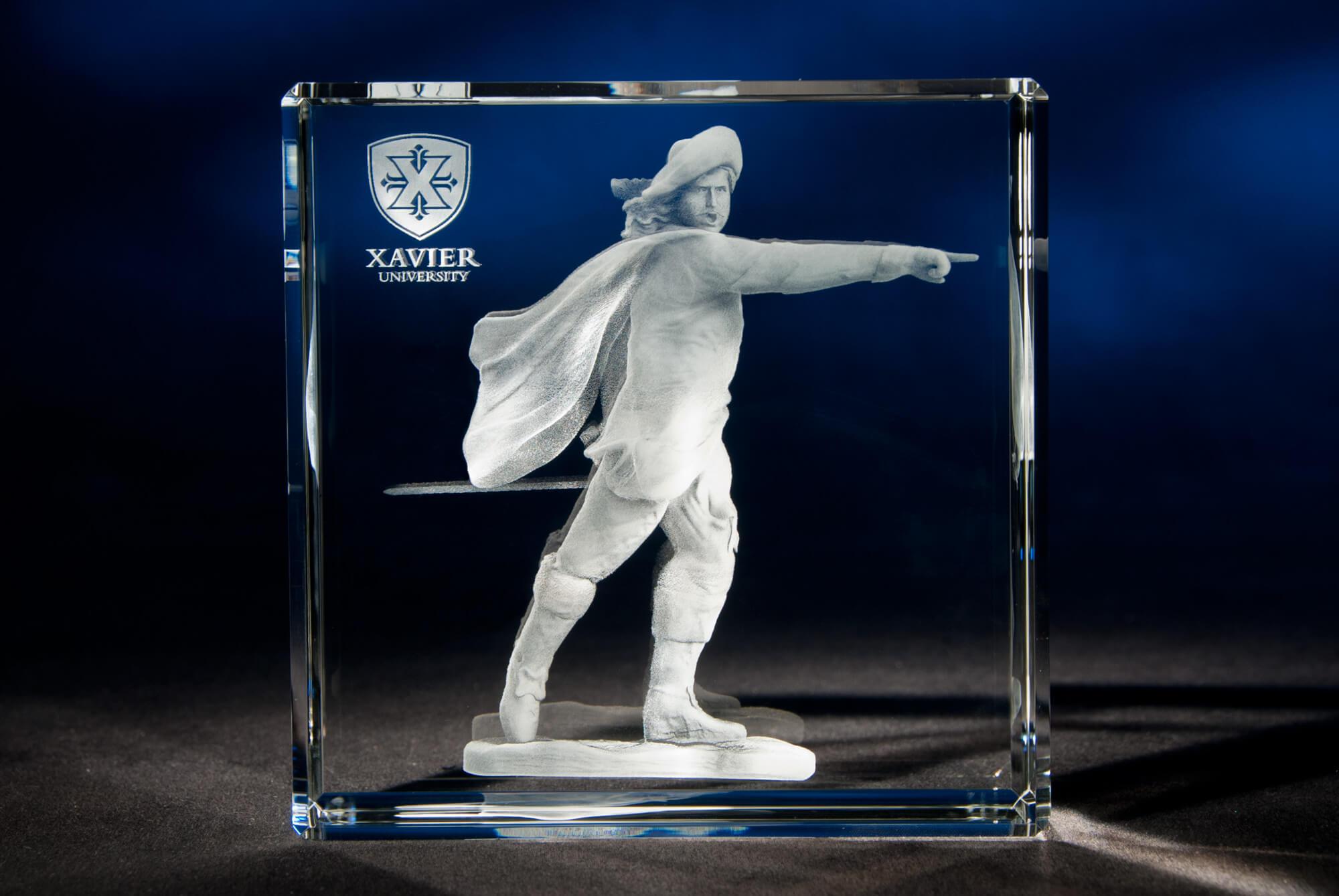 Xavier University Statue